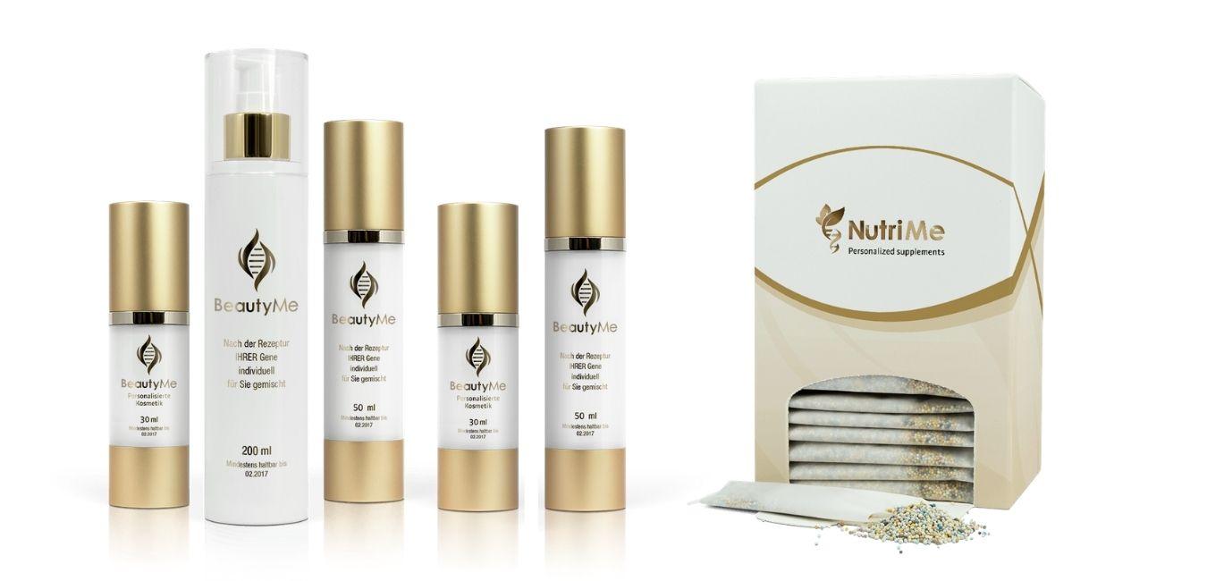 Zintegrowana terapia anti-aging: genokosmetyki BeautyMe i suplementy NutriMe Complete.